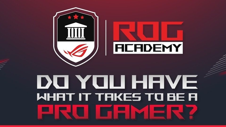 The ROG Academy has been designed to mentor potential professional gamers to excel in the field and help them boost their career opportunities in the eSports industry.