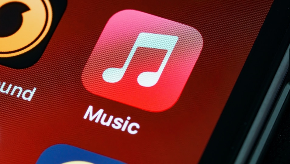 Apple Music app.