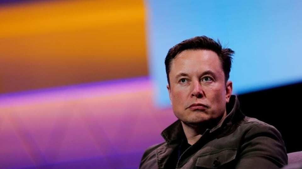 FILE PHOTO: SpaceX owner and Tesla CEO Elon Musk speaks during a conversation with legendary game designer Todd Howard (not pictured) at the E3 gaming convention in Los Angeles, California, US.