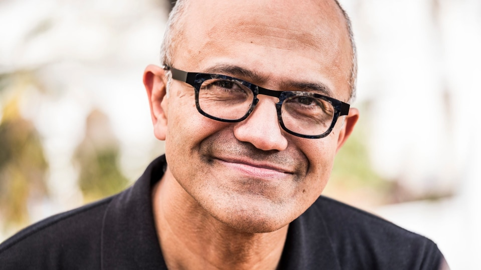 Microsoft CEO, Satya Nadella.