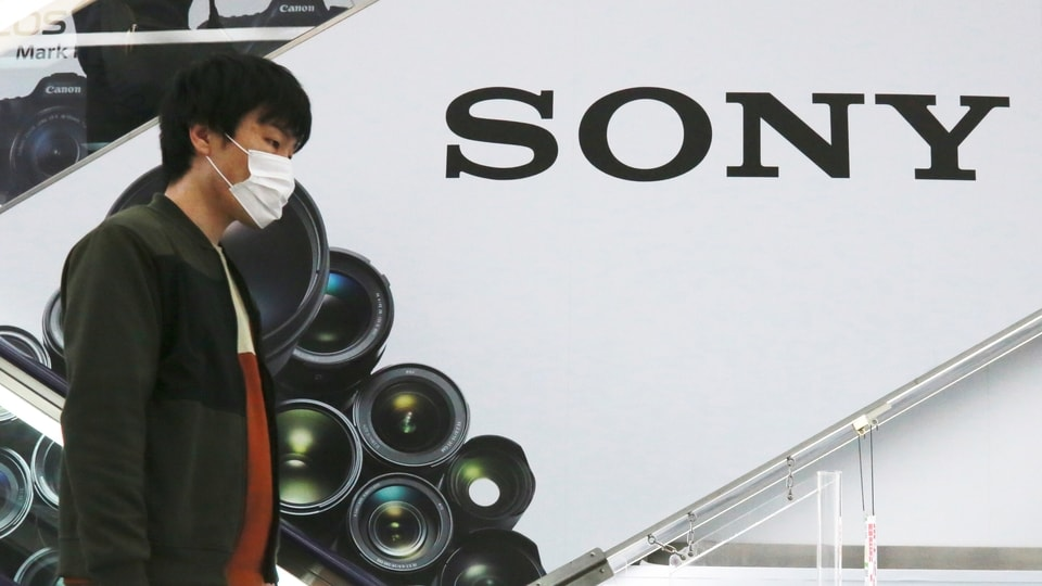 Sony's January-March profit zoomed eight-fold to 107 billion yen ($982 million) as people stuck at home during the coronavirus pandemic turned to the Japanese electronics and entertainment company's video games and other visual content. (AP Photo/Koji Sasahara)