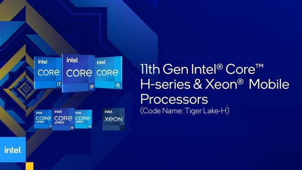 Intel launched its 11th Gen Core H series of gaming laptop processors today.