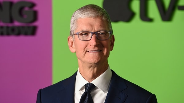 FILE PHOTO - In this Oct. 28, 2019 file photo, Apple CEO Tim Cook attends the world premiere of Apple's