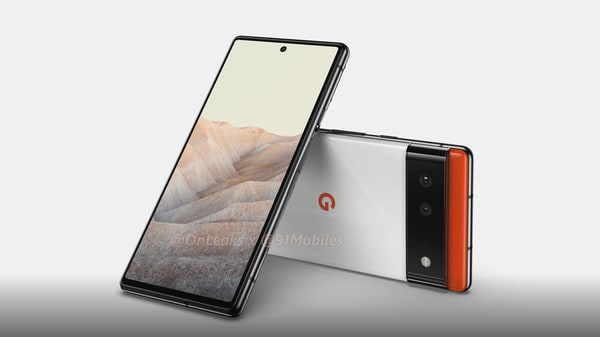 The Google Pixel 6 is going to come with a 6.4-inch flat display with the punch-hole cut out placed right in the middle.