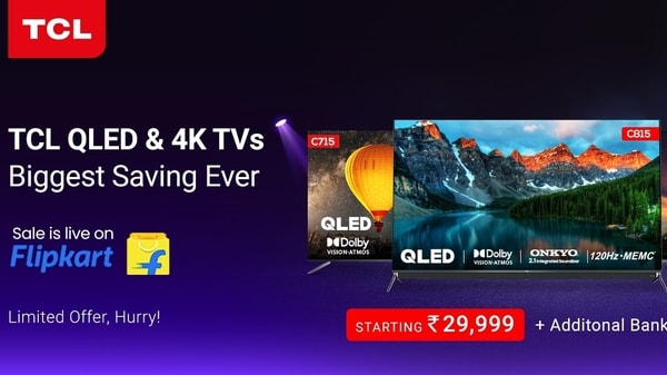 TCL offers on Flipkart