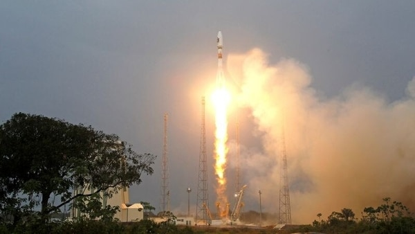 (Image for representational purposes only) A Russian Soyuz rocket carrying 36 UK telecommunication and internet satellites blasted off from the Vostochny cosmodrome in Russia's Far East.