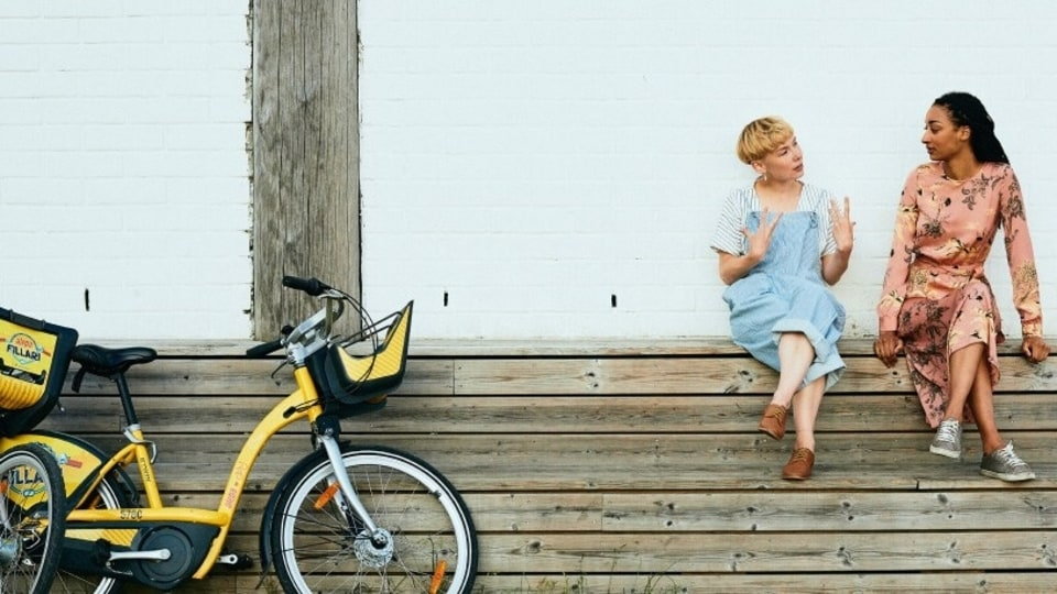 An image from Whim's website about the company's City Bike campaign.
