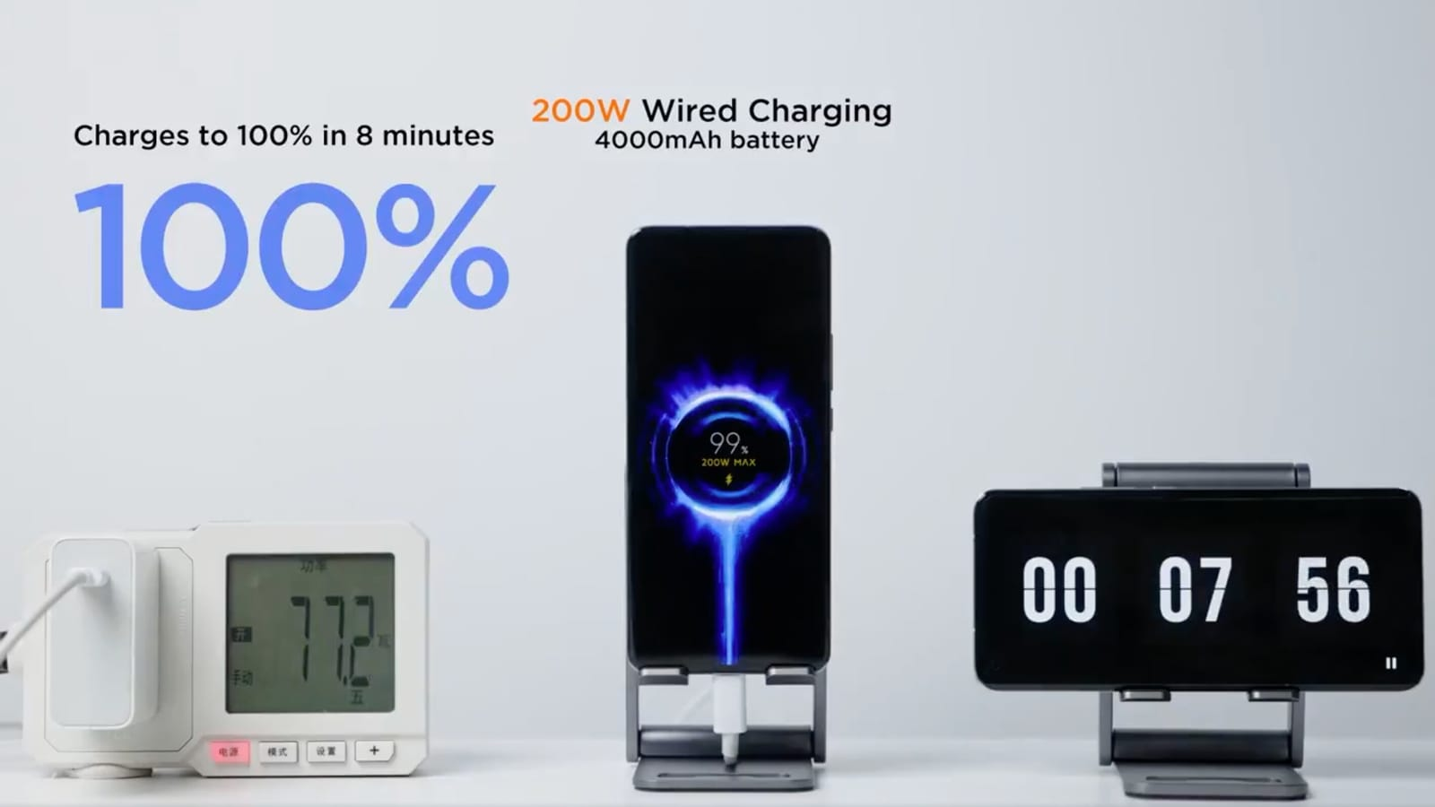 Xiaomi shows technology that can fully charge your phone in 8 minutes