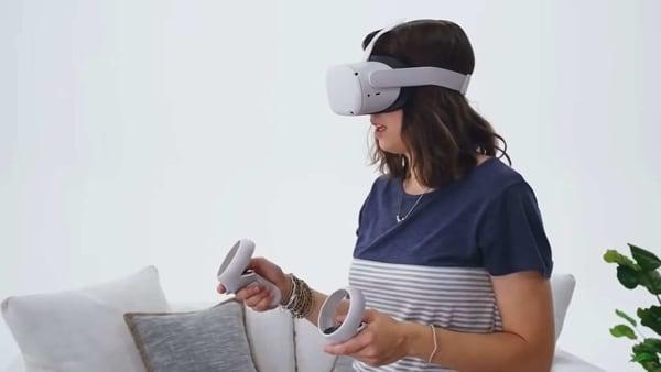 Facebook Oculus Quest 2.