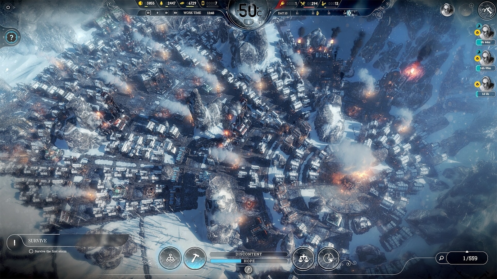 After doing it for us, the Frostpunk Dystopia Survival game is free for a week at the Epic Games Store