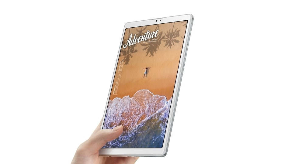 The Samsung Galaxy Tab A7 Lite