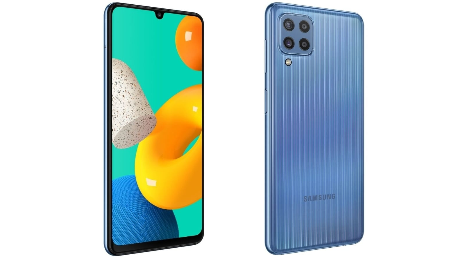 Images of Samsung Galaxy M32, before the specifications are marketed