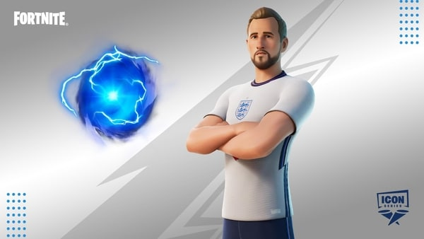 Harry Kane skin with the Sweet Victory Emote and Back Bling