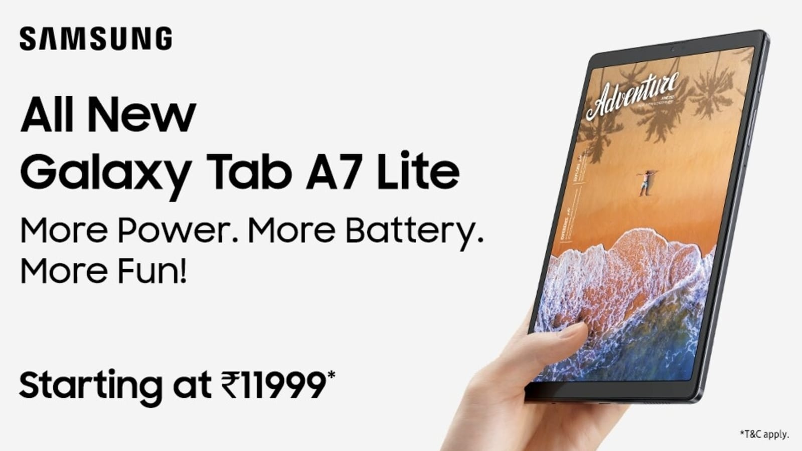 Samsung Galaxy Tab S7 FE, Galaxy Tab A7 Lite was marketed in India: check price, specifications