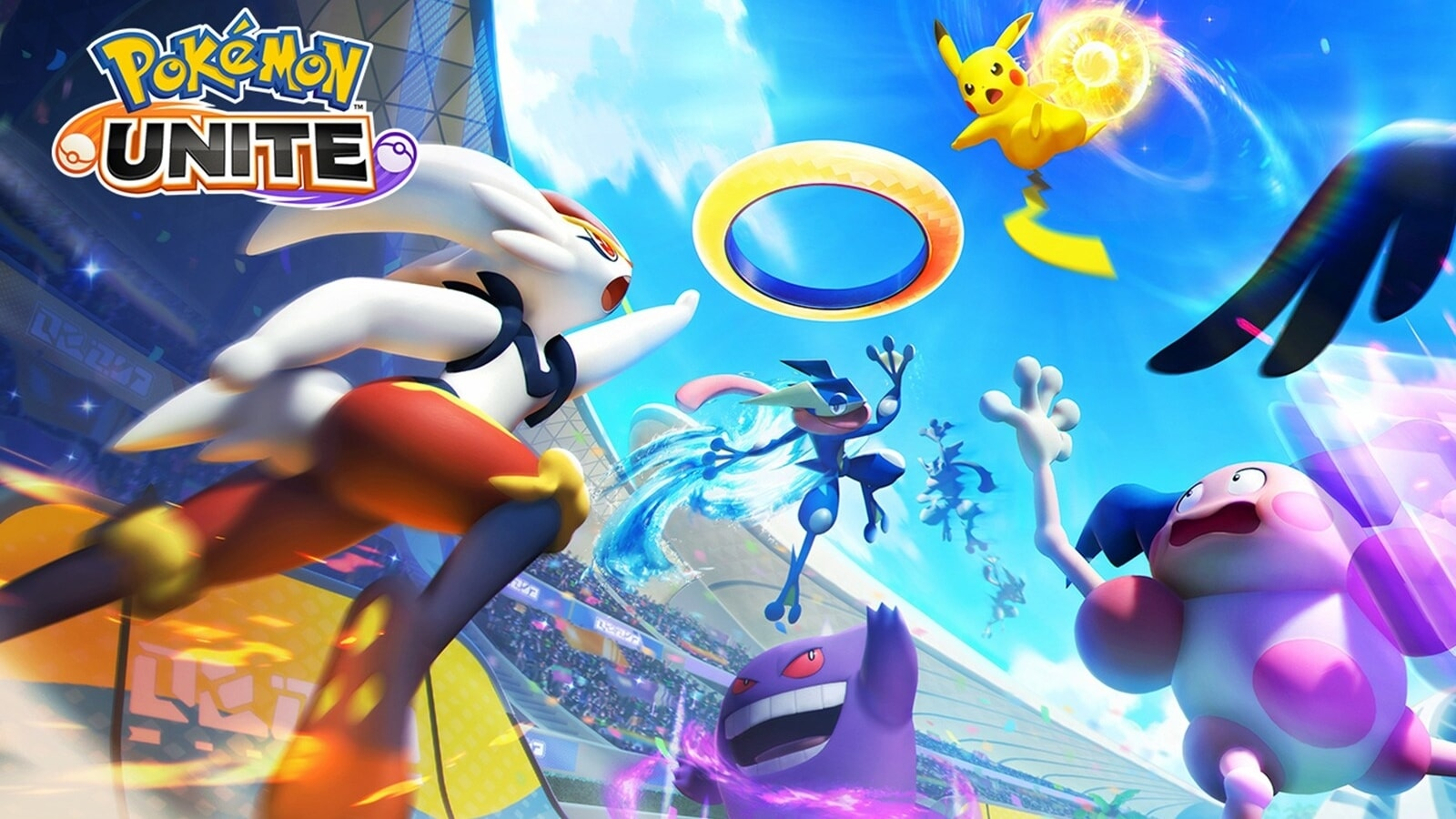 To launch Pokemon Unite on the Nintendo Switch in July, it will come to mobile