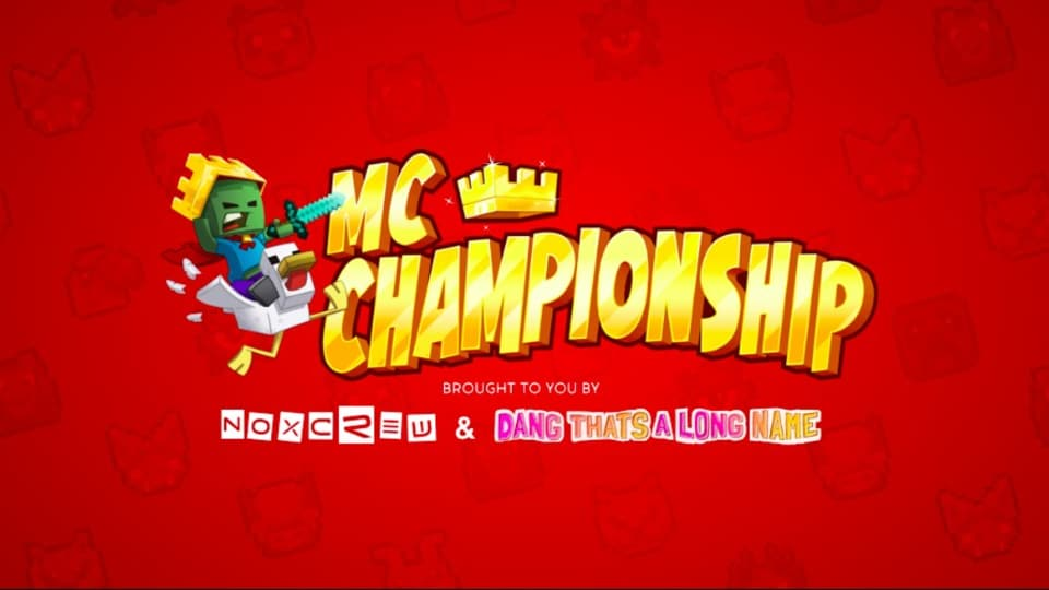 An image of the Minecraft Championship 2021.