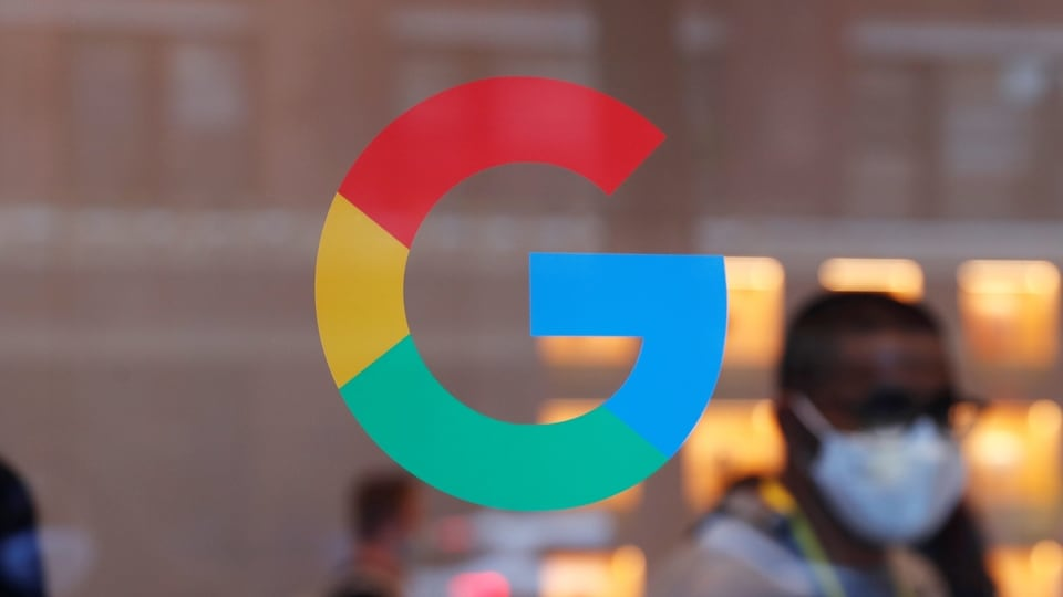 FILE PHOTO: The entrance to the Google retail store is seen in the Chelsea neighborhood of New York City, U.S., June 17, 2021.