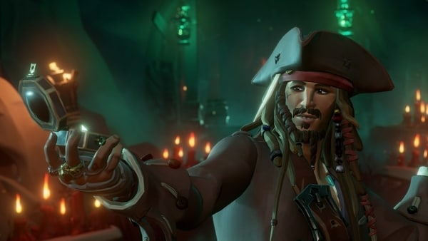 Captain Jack Sparrow is coming to popular pirate game Sea of Thieves.