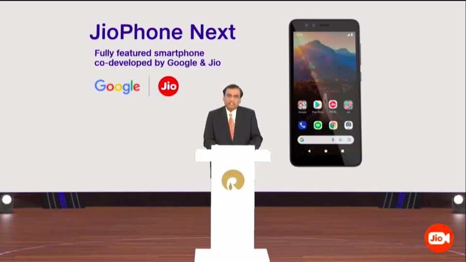 Reliance, RIL AGM 2021 Event Today Live Updates: Reliance Industries chairman and MD Mukesh Ambani announces JioPhone Next.