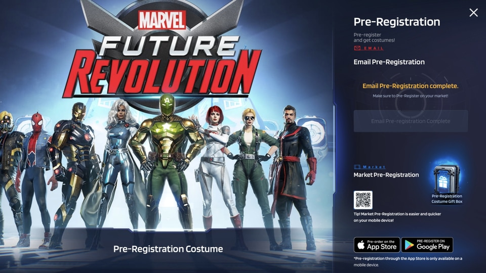 The story in Marvel Future Revolution begins when numerous Earths converge in the multiverse to create a whole new 'Primary Earth'.