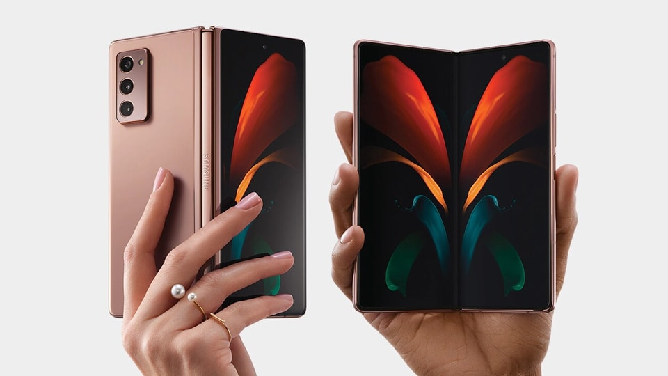 Samsung Galaxy Fold 3 is expected to launch in August this year. The Samsung Galaxy Fold 2 is shown in the picture above.
