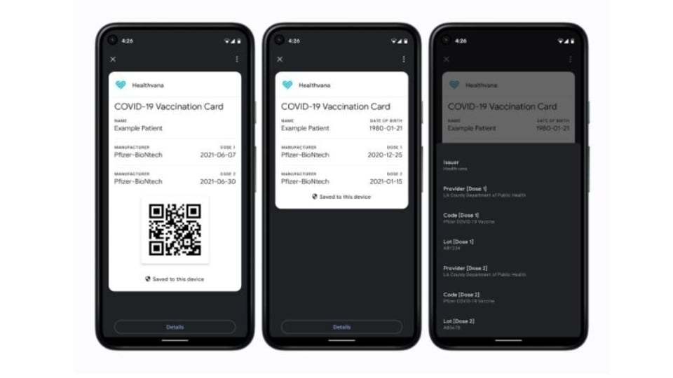 Google is bringing Covid-19 vaccine certificates direct to your Android smartphone
