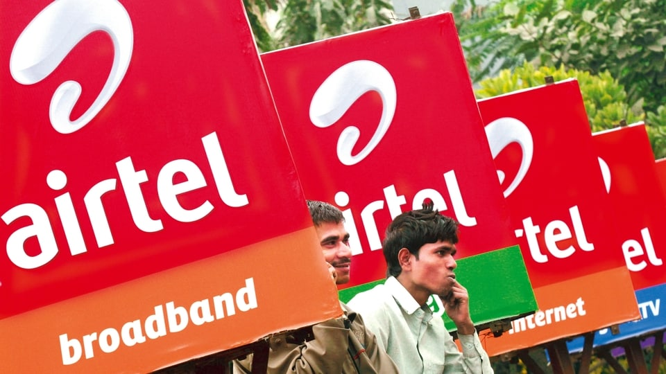 Bharti Airtel's 30-day plan is priced at <span class='webrupee'>₹</span>299. It comes with 30GB of data in total and offers unlimited voice calling and 100 SMS per day.
