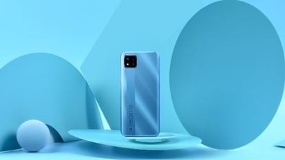 Realme C11 2021 smartphone is priced at <span class='webrupee'>₹</span>6,999.
