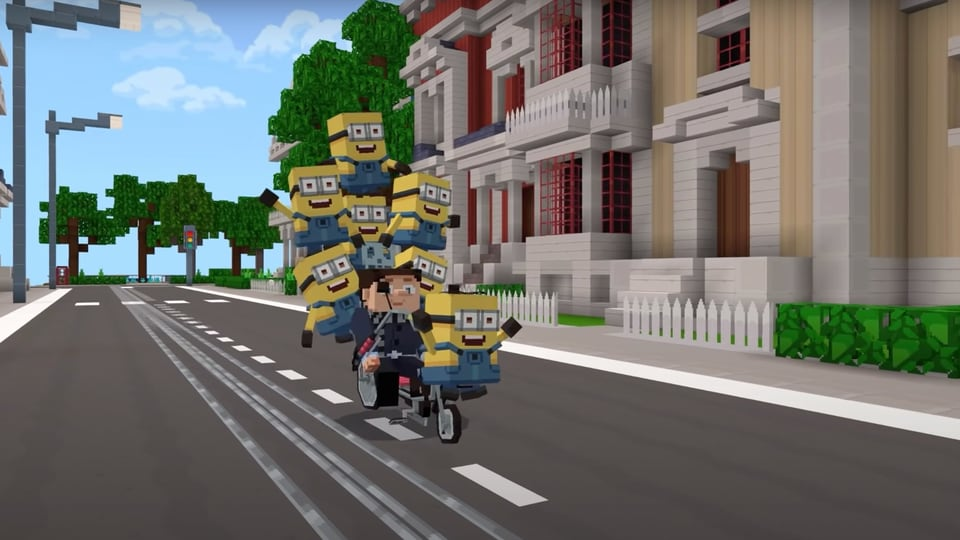 Time for some chaos with the Minions on Minecraft!
