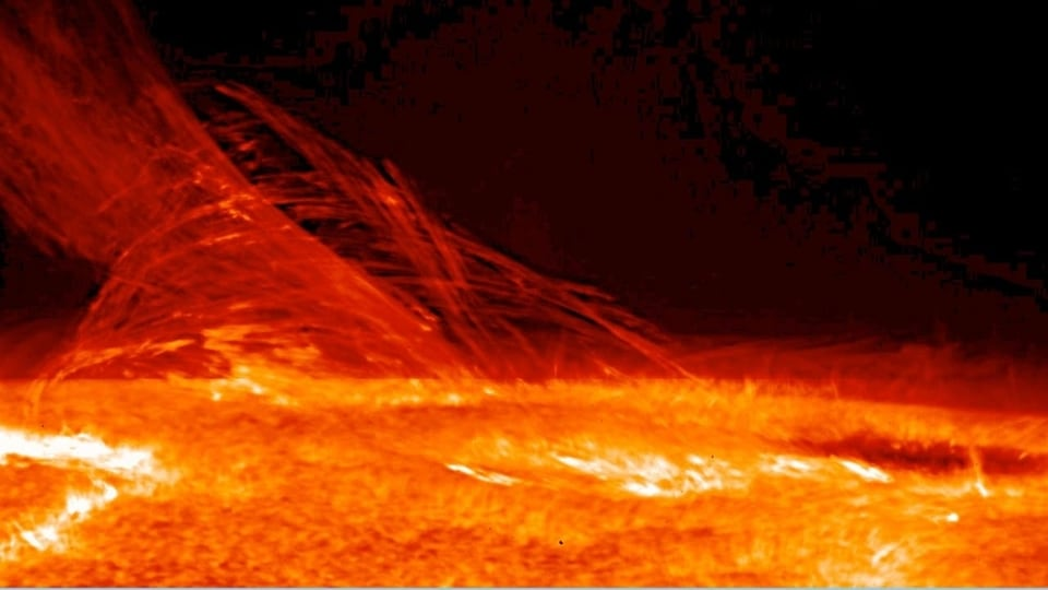 A solar storm can affect GPS so much that mobile phones can no longer work properly on Earth because tremendous inaccuracies and errors creep in.