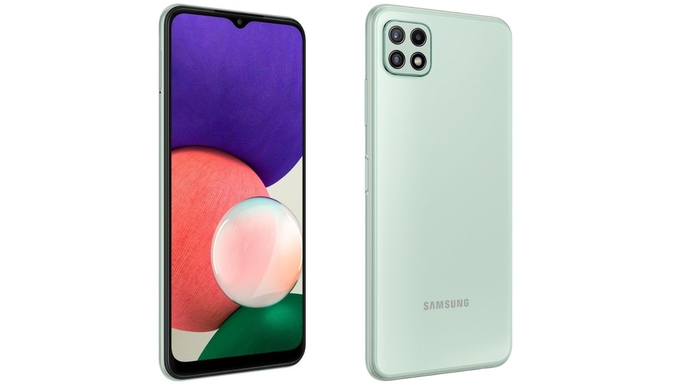 Samsung Galaxy A22 5G was launched in European markets last month and is expected to arrive in the country in the coming weeks.