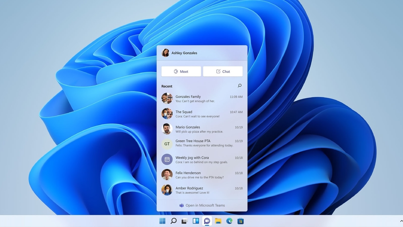 In Windows 11, Microsoft Teams Chat is now available;  will you be able to download?  Find out here