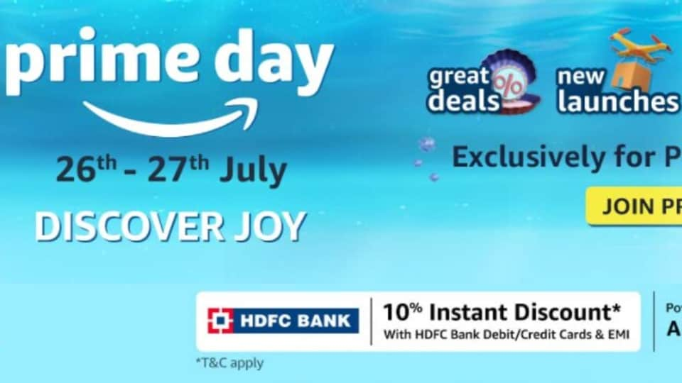 Amazon Prime Day 2021 sale Voltas, Samsung, Sony and more products will get big price cuts.