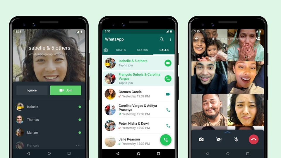 WhatsApp group calls will no longer be disturbed by those who join late. They will no longer be put under the spotlight in front of all the people in the call.