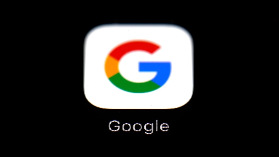 FILE - This March 19, 2018 file photo shows the Google app on an iPad in Baltimore. (AP Photo/Patrick Semansky, File)
