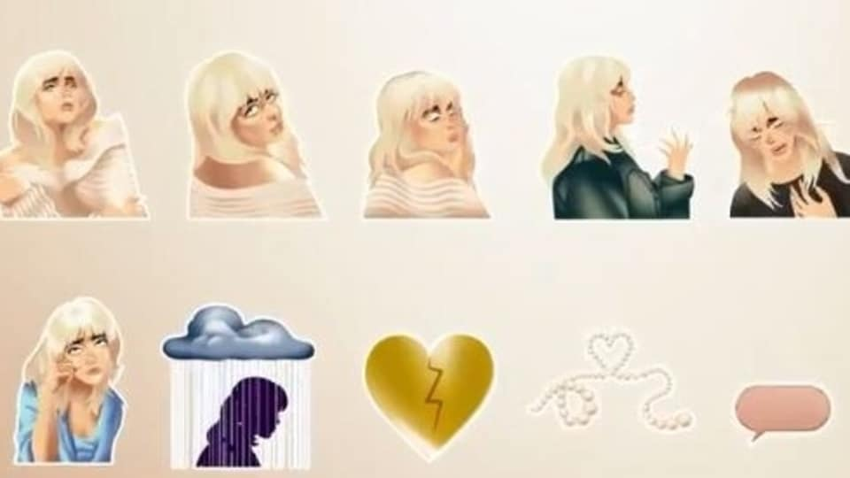 WhatsApp's Billie Eilish animated sticker pack is called Happier Than Ever, after the American singer's newest studio album.