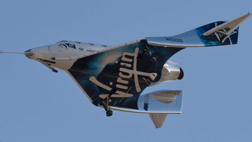 Virgin's space experience involves an air-launched spaceplane, the VSS Unity (pic above), that takes off attached to the belly of a massive carrier plane from a runway at Spaceport America in New Mexico.