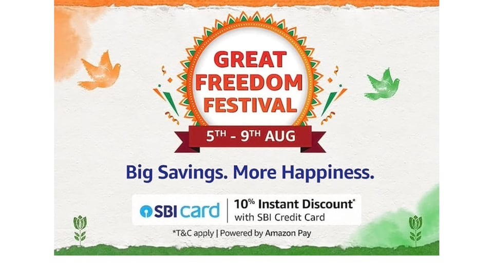The Amazon Great Freedom Festival 2021 sale has something for everyone. From smartphones, smartwatches to laptops, we have prepared a comprehensive list for you.