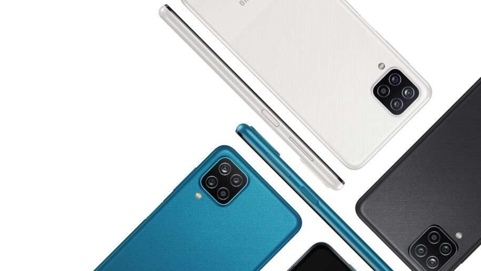 Samsung did not launch the Galaxy A12 yesterday during the Galaxy Unpacked 2021 event for a reason - this is not a new mobile, it is a variant of the model (pictures above) launched earlier.
