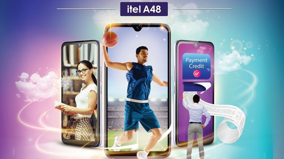 The newly launched Itel A48 is priced at <span class='webrupee'>₹</span>6,399.