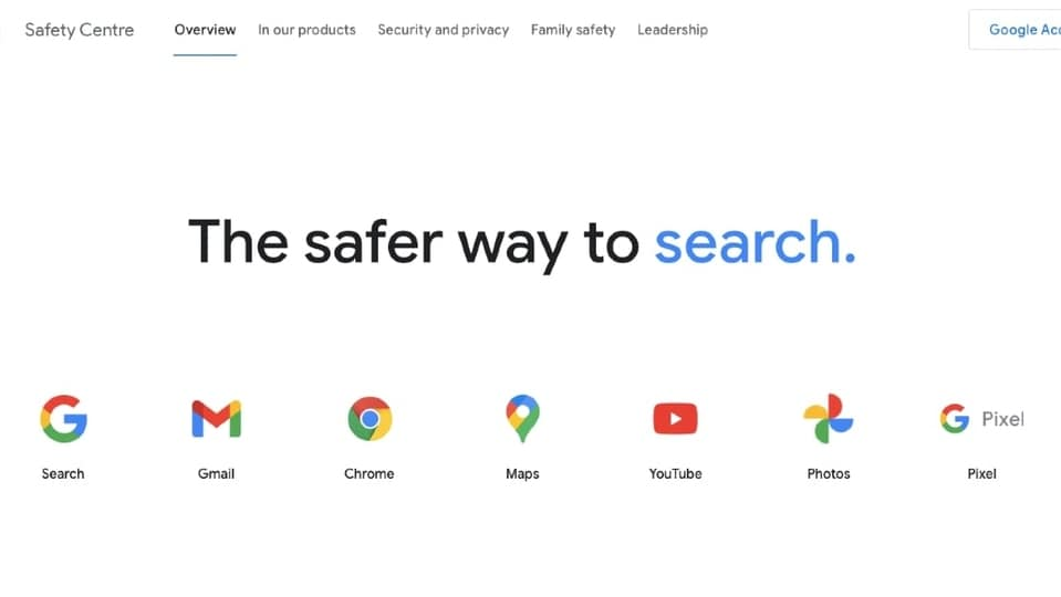 Google Safety Centre will provide support for eight Indic languages.