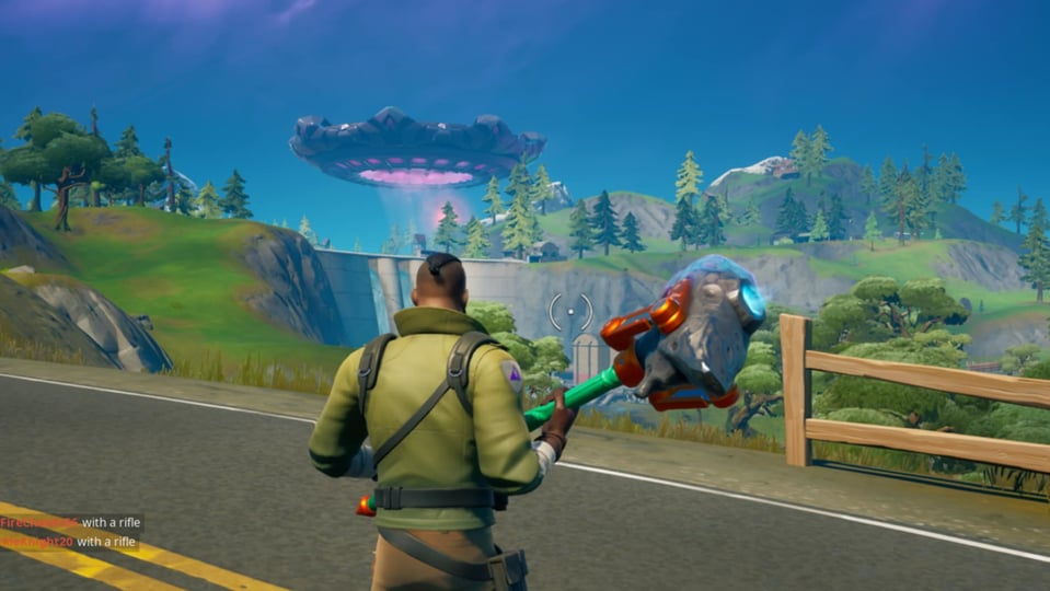 A Fortnite leak is suggesting that the 'Mothership is coming down.' On Twitter the leak is predicting a big Fortnite island disaster.