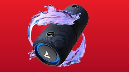 The portable boAt Stone 1200 Bluetooth speaker comes with a 3,600mAh battery, which the company claims offers a playback time of nine hours.
