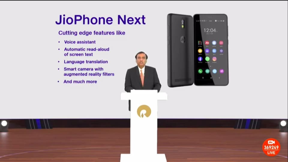 JioPhone Next launch date: Smartphone is to launch on September 10. Expectations are that JioPhone Next price will be as low as <span class='webrupee'>₹</span>3,499.