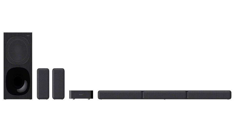 The Sony HT-S40R has 600W of total power output, 5.1 channel real surround sound and Dolby Audio technology.