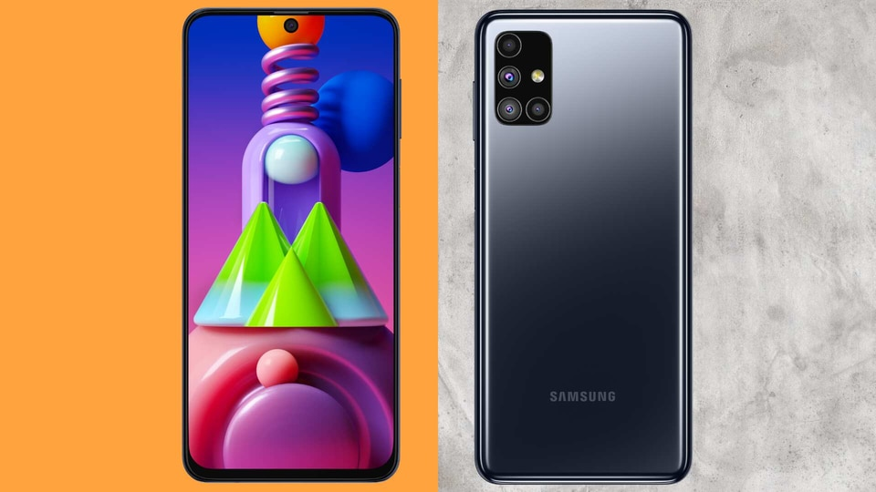 The Galaxy M52 5G is tipped to have a hole-punch AMOLED display.
