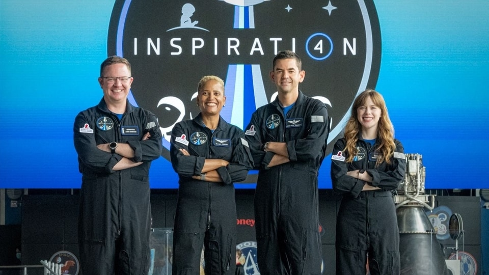 SpaceX launch: An astro-tourist team is poised to make history as the first all-civilian crew launched into Earth orbit in an Elon Musk led company's Spacex rocketship from a NASA launchpad.