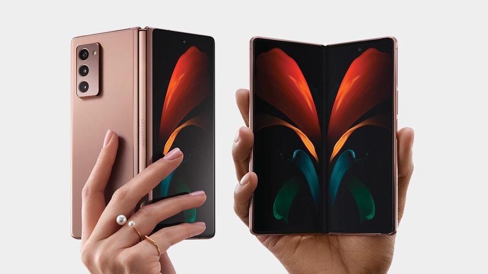 In image: Galaxy Z Fold 2
