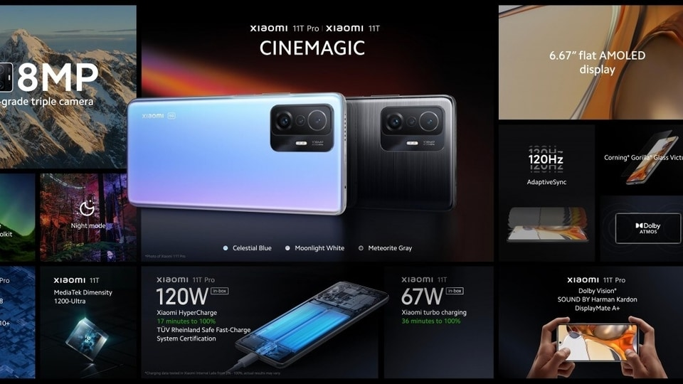 One key difference between Xiaomi's Mi 11 series smartphones and Xiaomi's 11T series is that the company has dropped its usual 'Mi' branding.