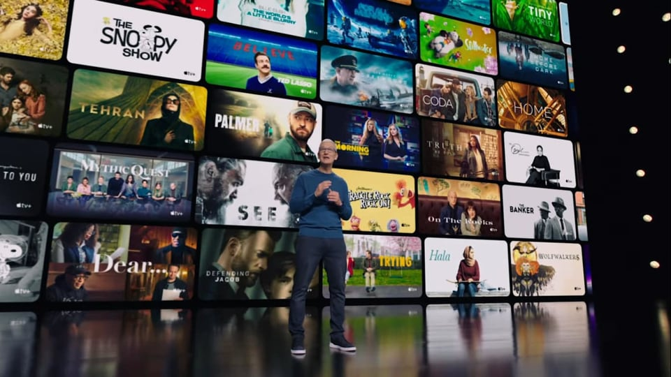 Apple has not disclosed how many people subscribe to Apple TV , which offers only original programming, making its menu smaller than rivals that offer libraries of older TV shows and movies.